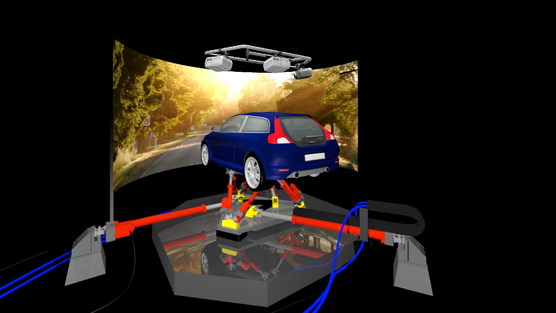 Volvo Car Corporation Orders Revolutionary Driving Simulation